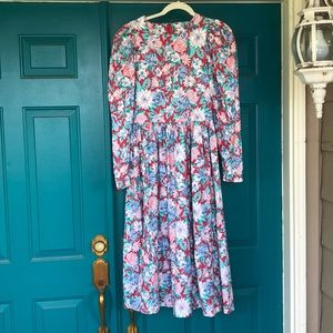 Vintage Laura Ashley dress US size 10